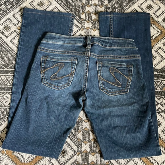 Silver jeans women's Tuesday size 27/35 tall